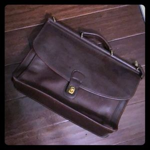 $ale💛Vintage ❤️Large Coach Office bag